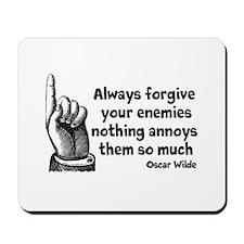 Annoy Enemies Mousepad