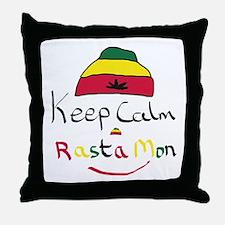 Cute Rasta Throw Pillow
