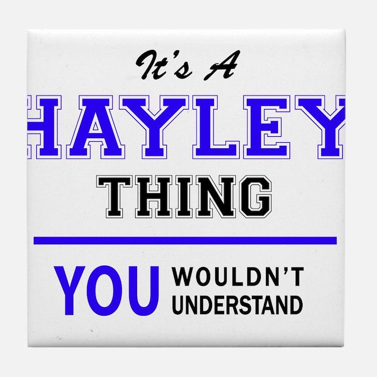 Cute Hayley Tile Coaster
