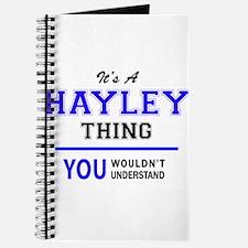 Cute Hayley Journal