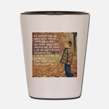 Cool Spirituality Shot Glass