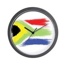 South Africa flag cape town Wall Clock