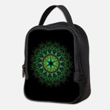 Tangled up in Green Neoprene Lunch Bag