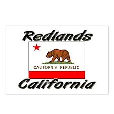 Redlands California Postcards (Package of 8)