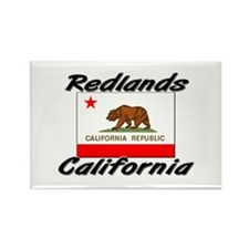 Redlands California Rectangle Magnet