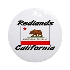 Redlands California Ornament (Round)