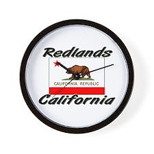Redlands California Wall Clock