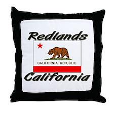 Redlands California Throw Pillow