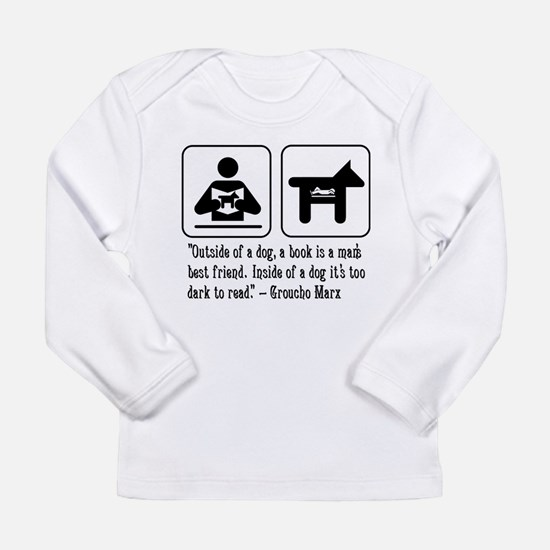 Book man's best friend Groucho Marx Infant Tee