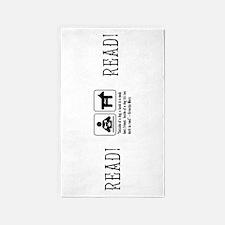 Book man's best friend Groucho Marx 3'x5' Area Rug