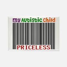 Priceless 2 (Autistic Child) Rectangle Magnet (10