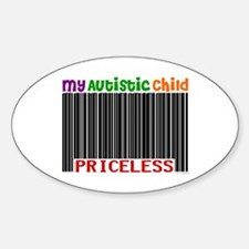 Priceless 2 (Autistic Child) Oval Decal