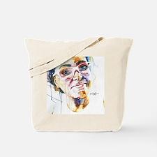 Cute Portrait woman Tote Bag