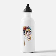 Cool Watercolor Sports Water Bottle