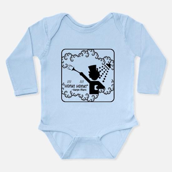"""Honk! Honk!"" Long Sleeve Infant Bodysuit"