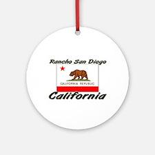 Rancho San Diego California Ornament (Round)
