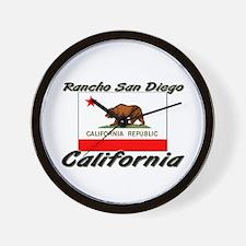 Rancho San Diego California Wall Clock