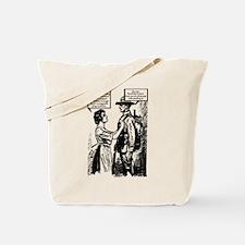Evolution of English Tote Bag