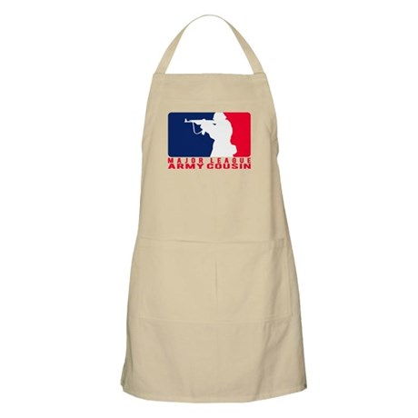 Major League Cousin 2 - ARMY BBQ Apron