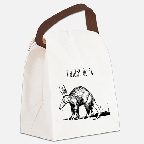 Cool Anteater Canvas Lunch Bag