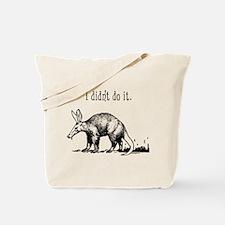 Cute Aardvark Tote Bag