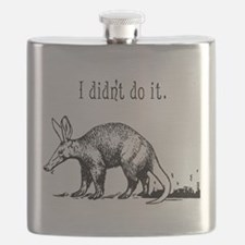 Funny Anteater Flask