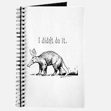 Cute Aardvarks Journal