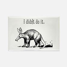 Cute Anteater Rectangle Magnet