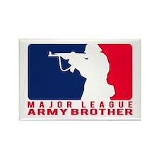 Major League Bro 2 - ARMY Rectangle Magnet