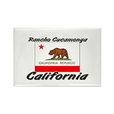 Rancho Cucamonga California Rectangle Magnet