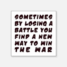 Win War Sticker
