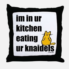 lolknaidels.png Throw Pillow