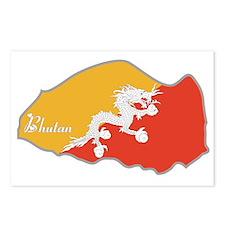Cool Bhutan Postcards (Package of 8)