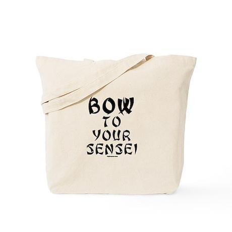 Bow To Your Sensei Tote Bag