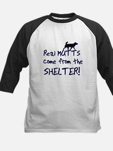 Real Mutts, shelter, pound, Kids Baseball Jersey