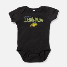 Cute Little man baby Baby Bodysuit