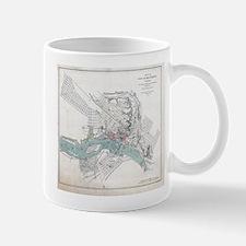 Vintage Map of Richmond Virginia (1864) Mugs