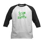 scum of the earth Kids Baseball Jersey