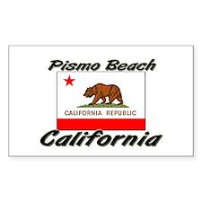 Pismo Beach California Rectangle Decal