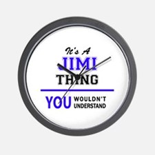 JIMI thing, you wouldn't understand! Wall Clock