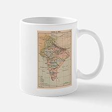 Vintage Map of India (1823) Mugs
