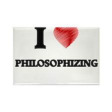 I Love Philosophizing Magnets