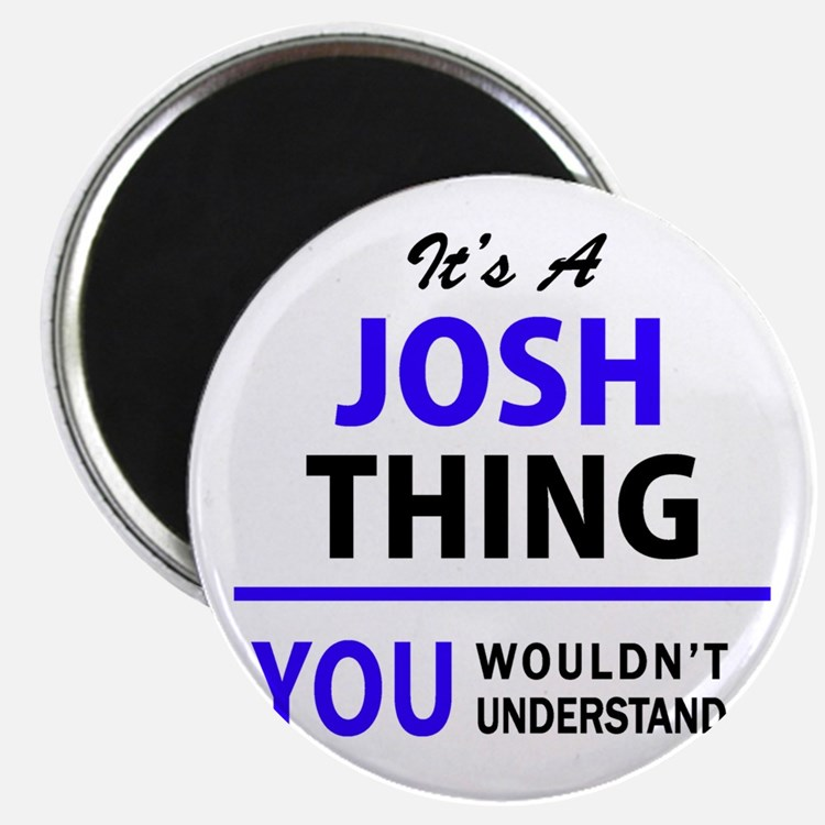 JOSH thing, you wouldn't understand! Magnets