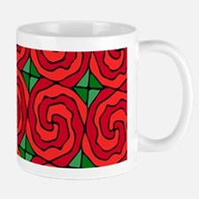 Bed of Red Roses Mugs