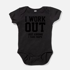 Cute Humorous Baby Bodysuit
