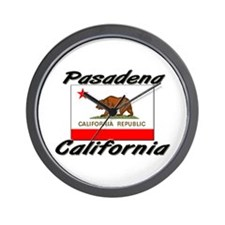 Pasadena California Wall Clock