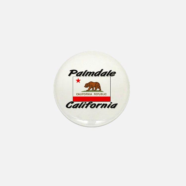 Palmdale California Mini Button