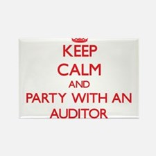 Keep Calm and Party With an Auditor Magnets