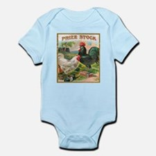 Vintage Chickens Body Suit