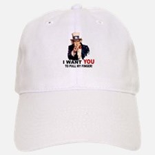 Want You To Pull My Finger Baseball Baseball Cap
